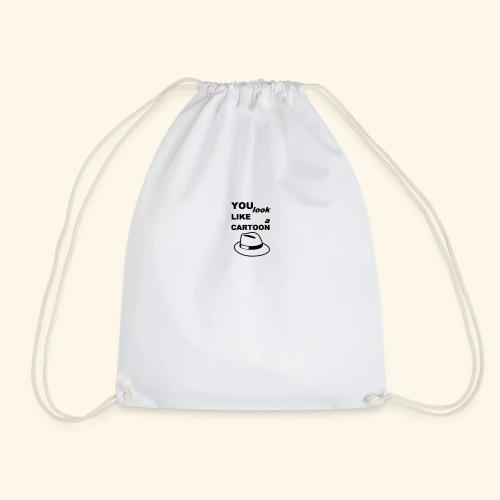 Cartoon Spruch Zitat lustig Geschenk - Drawstring Bag