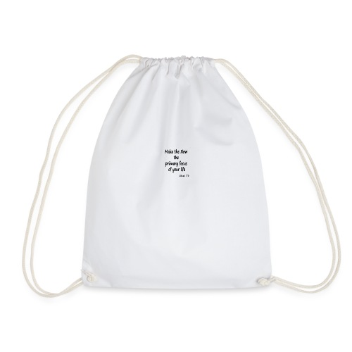 Now focus - Drawstring Bag