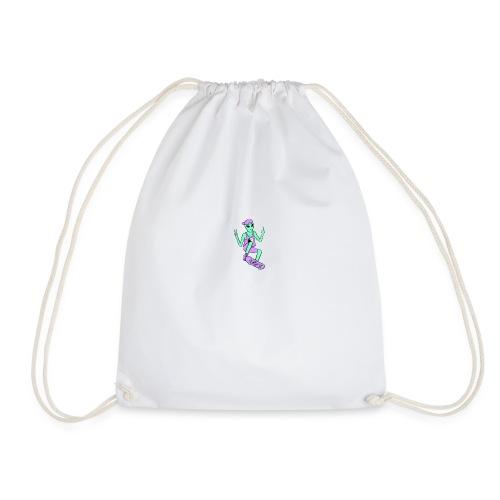 Skater Alien - Drawstring Bag