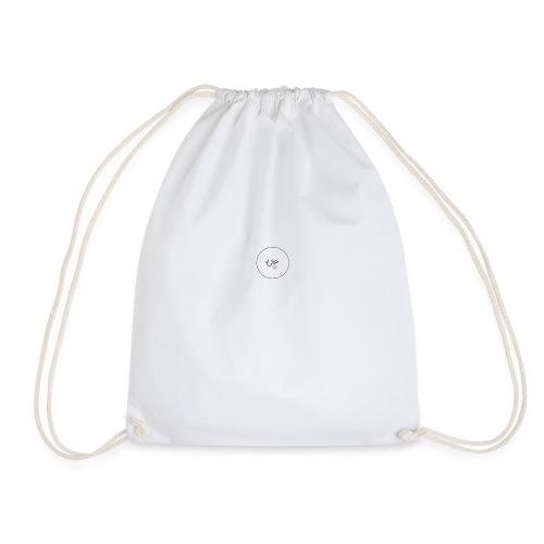 white merch - Drawstring Bag