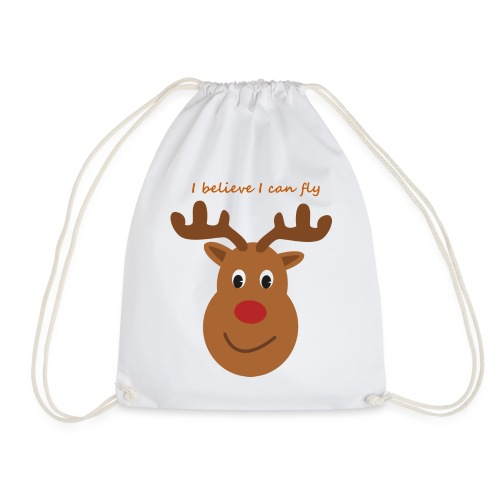 Isles of Rudolph - Drawstring Bag