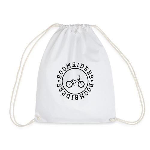 BOOM BIKE LOGO - Drawstring Bag