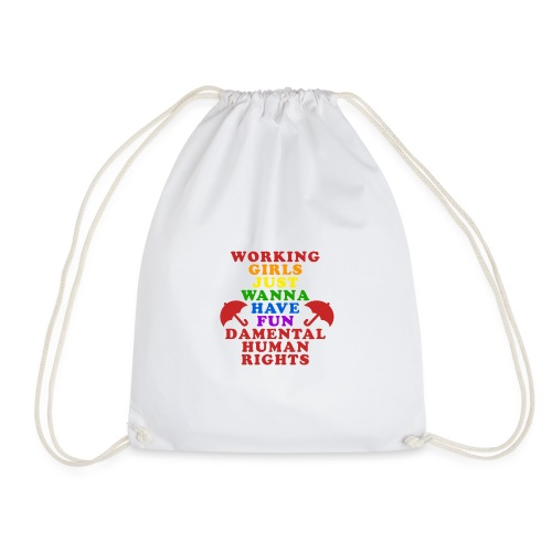 workinnggirlspride - Drawstring Bag