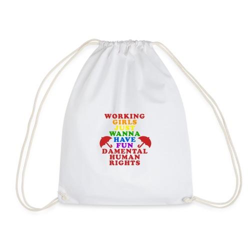 workinnggirlspride - Drawstring Bag