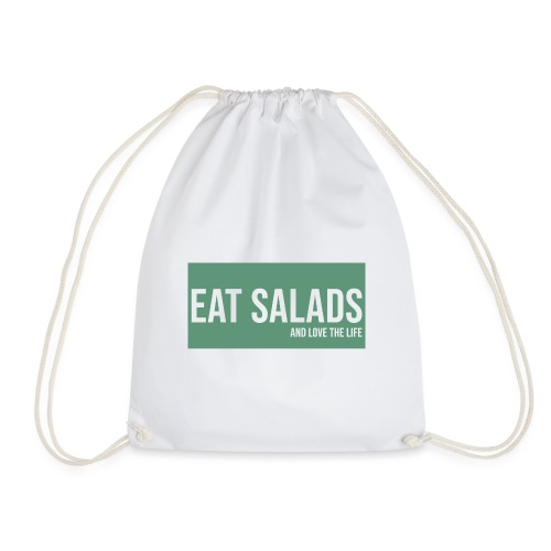 eat salade and love the life food green - Sac de sport léger