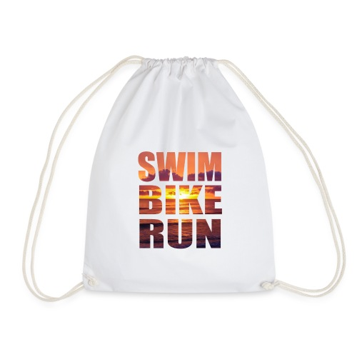 swim bike run @RUNNINGFORCE - Turnbeutel