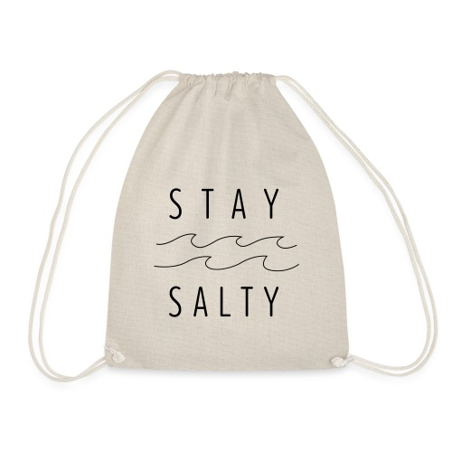 stay salty - Turnbeutel
