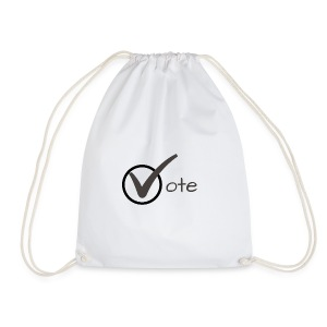 Vote - Drawstring Bag
