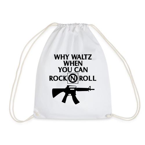 lost boys why waltz - Drawstring Bag