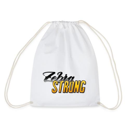 Zebra Strong - Turnbeutel