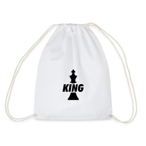 King (Schwarz) - Turnbeutel
