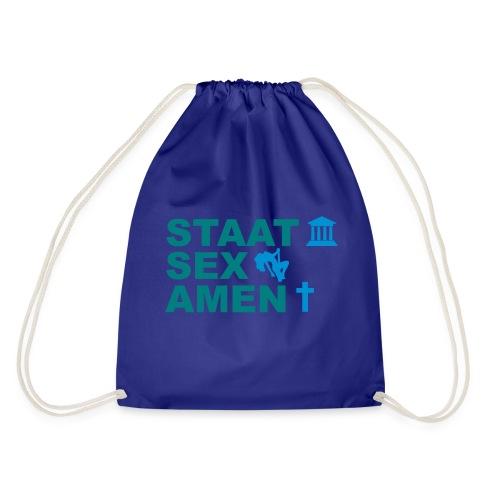 Staatsexamen / Staat Sex Amen - Turnbeutel