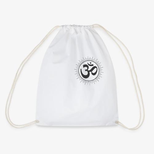 hindu god oom rise drawing vectors clipart - Turnbeutel