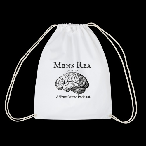 Guilty Mind Mens rea Logo - Drawstring Bag