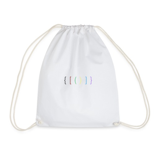 The Brackets - Drawstring Bag