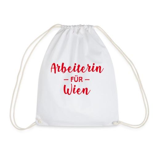 Arbeiterin für Wien - Turnbeutel