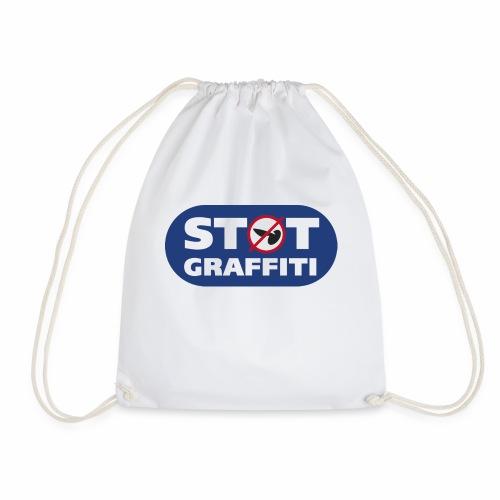 støt graffiti - blk logo - Sportstaske