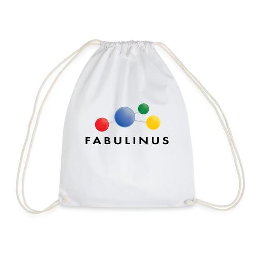 Fabulinus logo dubbelzijdig - Gymtas