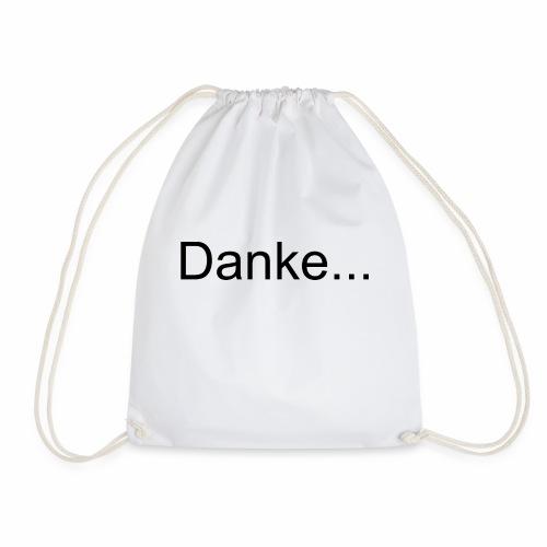 Danke...nicht interessiert - Drawstring Bag