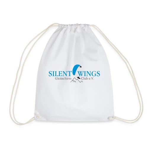 Silent Wings Logo 3 farbig - Turnbeutel