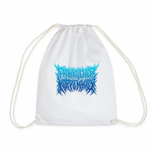 Logo/back blue - Turnbeutel