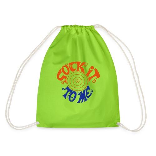 sock it to me - Drawstring Bag