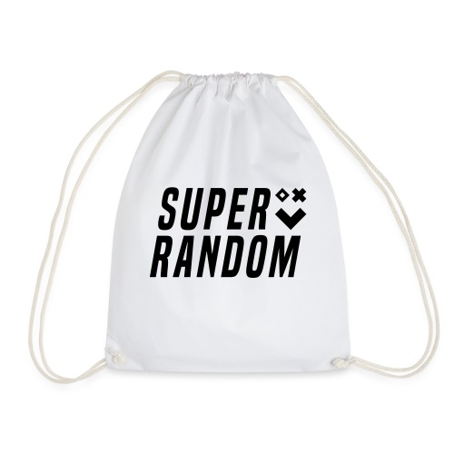 SUPER RANDOM BLACKEDOUT - Drawstring Bag