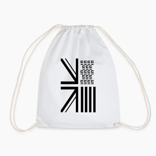 Entra© Flag White - Drawstring Bag