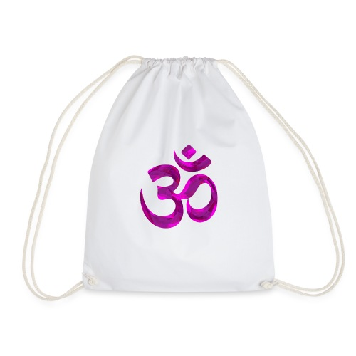 Symbole violet Chakra Om - Sac de sport léger