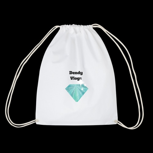 DendyVlogs Diamond Merch - Drawstring Bag