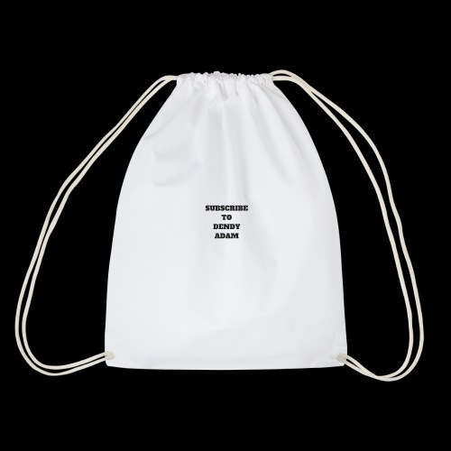 Subscribe to Dendy Adam Merch - Drawstring Bag