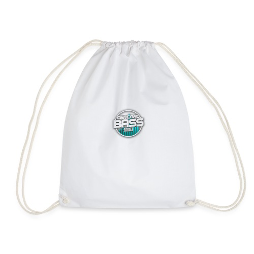 Plain T-Shirt with Logo - Drawstring Bag