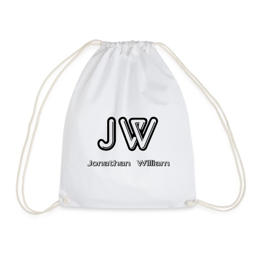 Jonathan William JW logo - Drawstring Bag