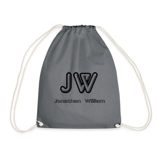 Jonathan William JW logo - Drawstring Bag