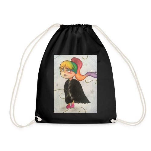 Amber in the wind - Drawstring Bag