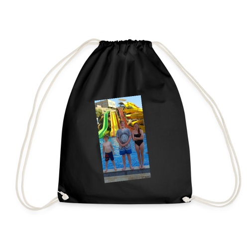 MY FAMILY. IN VLOGS YOU WILL SEE A LOT OF THEM - Drawstring Bag