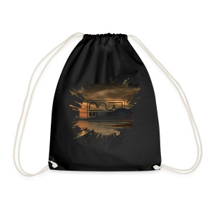 Women's shirt Splatter - Drawstring Bag