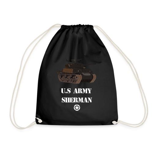 Sherman Tank WW2 - Drawstring Bag