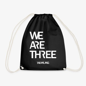 WE ARE THREE - Turnbeutel