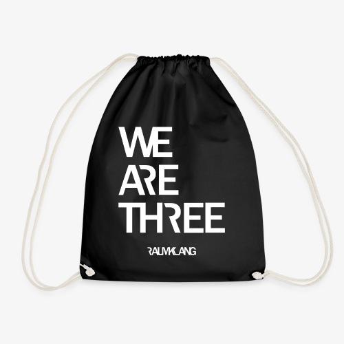 WE ARE THREE - Turnbeutel