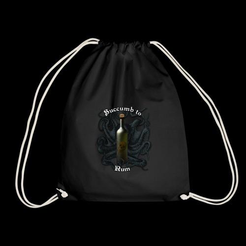 Succumb to Rum - Drawstring Bag