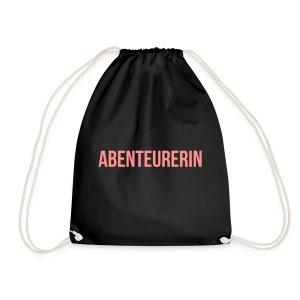 Abenteurerin - Turnbeutel