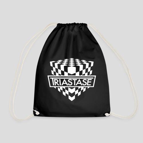 Triastase Logo White - Drawstring Bag