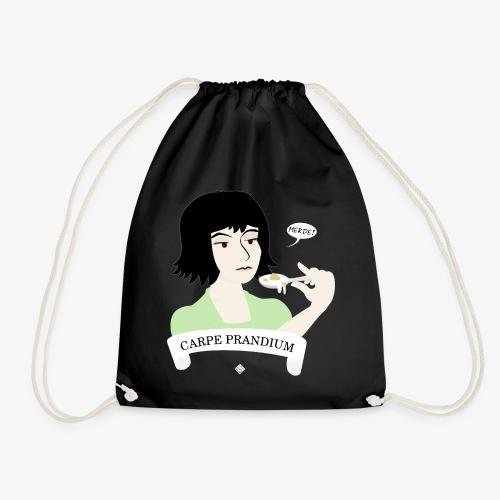 Carpe Prandium - Drawstring Bag
