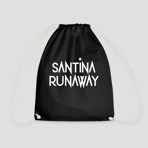 DJ Santina Runaway - Logo - Drawstring Bag