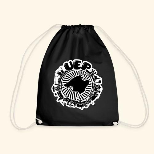 UEP white background - Drawstring Bag