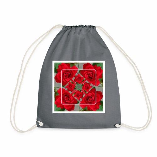 Rose Design - Turnbeutel