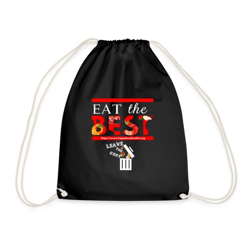 Eat the Best - HIPP about Health - Drawstring Bag