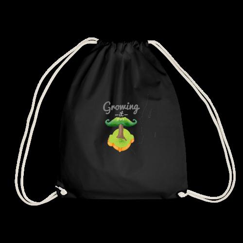Moustache tree - Drawstring Bag
