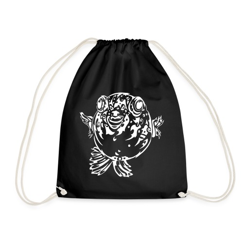 Puff the Blowfish - Drawstring Bag